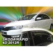 Ветровики на Skoda Rapid 5d 2012( OT) Heko Польша