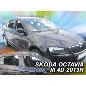 Ветровики на SKODA OCTAVIA III 5D 2013R->(+OT) LTB