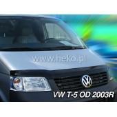 дефлектор капота VW T-5 2D 2003-2010R